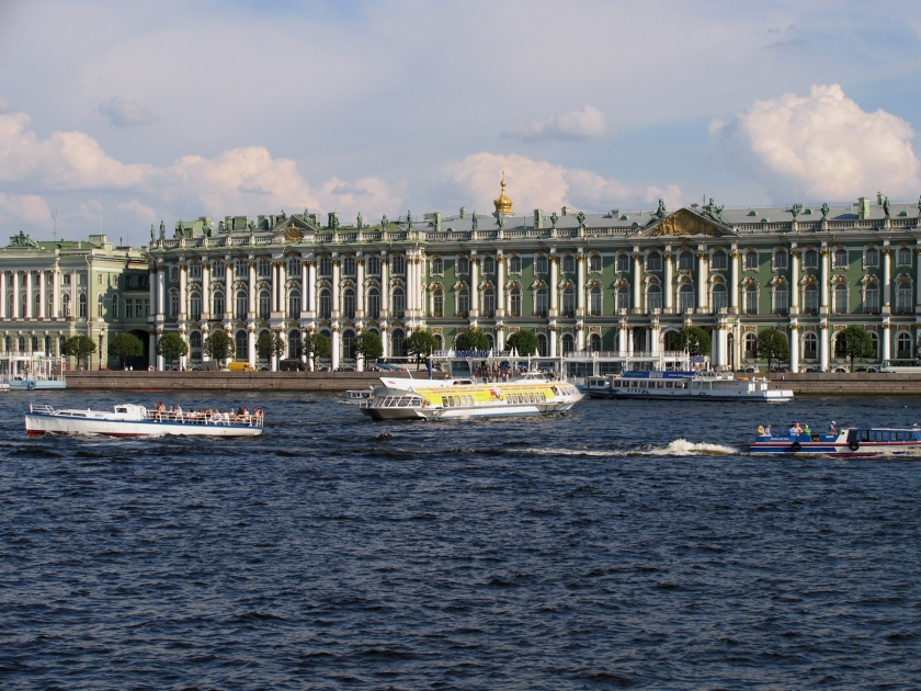 Neva, Winter Palace